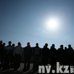 Все 35 карагандинцев отправятся служить в войсковую часть № 97617 (Первомайские пруды, Алматинская область).