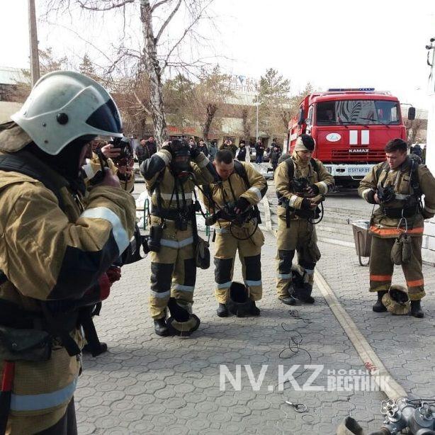 Пожарно-тактические учения на объектах торговли