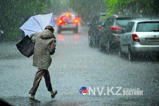 Заморозки и сильные дожди ожидаются в Казахстане